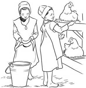 amish coloring books coloring pages