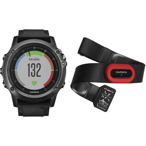 Garmin Fenix 3 Black Grosir garmin fenix 3 hr performer bundle 010 01338 73 b h photo