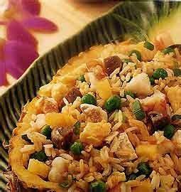 food recipes resep nasi goreng nanas