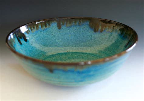 Handmade Pottery Bowl - large handmade ceramic bowl