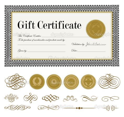 templates cards and certificates 17 best images about new gift card ideas on