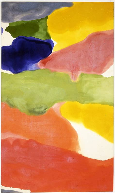 which movement does color field painting belong to tutti fruitti helen frankenthaler wikiart org