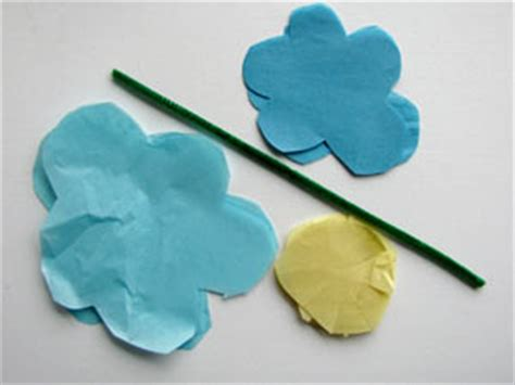 How To Make Mexican Paper Flowers Step By Step - tissue paper flowers woo jr activities