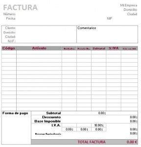 numerador automtico para facturas o recibos en excel modelo de factura para excel modelo factura