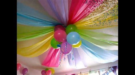 decoracion  cumpleanos infantiles youtube