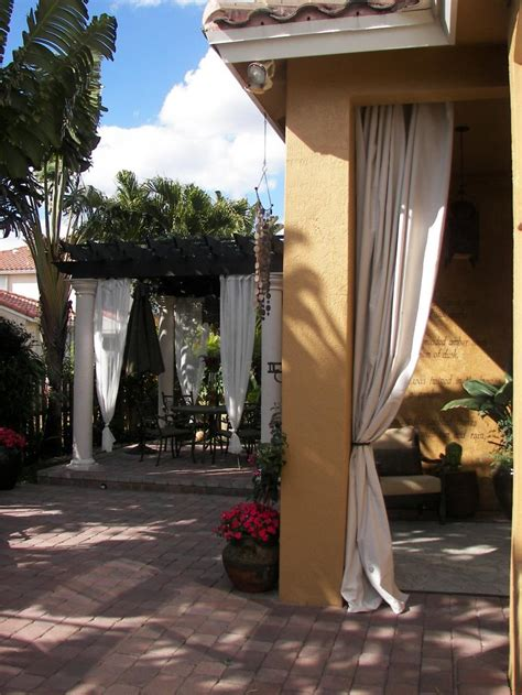 backyard curtains ideas for outdoor curtains gazebo