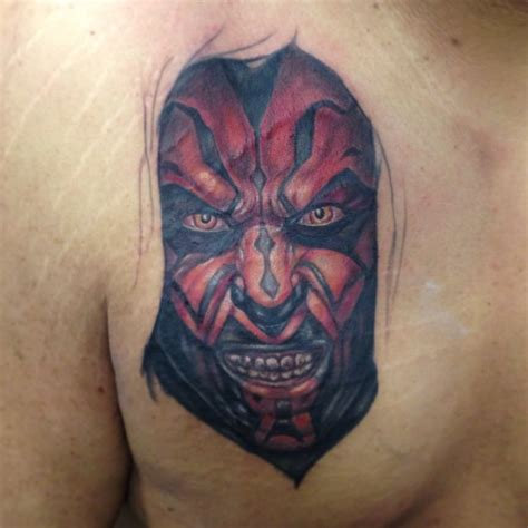 darth maul tattoo design new school artists orange county los angeles