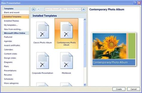 Powerpoint Templates Microsoft 2007 Gallery Powerpoint Template And Layout Microsoft Office Powerpoint Templates