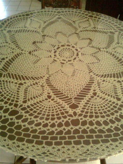 manteles tejido a crochet con tela manteles a crochet manualidades