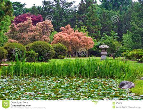 japanese stroll garden stock photo image 5736670