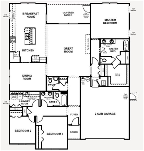 Richmond American Homes Floor Plans | richmond american floor plans