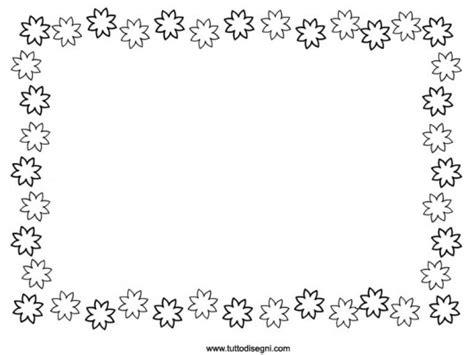 cornicette fiori cornicetta con i fiori da colorare tutto disegni