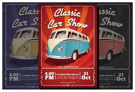 21 Car Show Flyer Templates Sle Templates Show Template