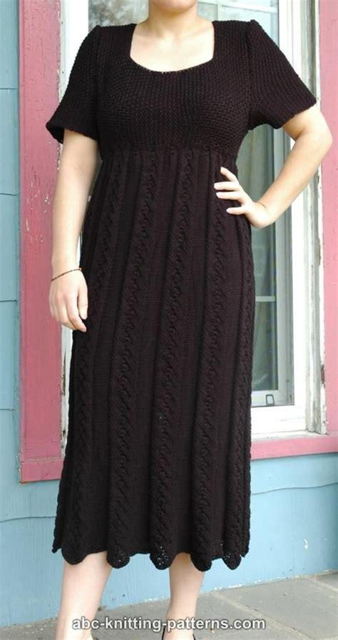 free pattern empire waist dress abc knitting patterns summer empire waist dress