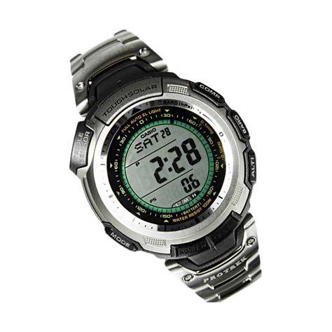 Casio Mrw200h1ev Jam Tangan Pria jual casio protrek prg 110t 7vdr titanium sensor