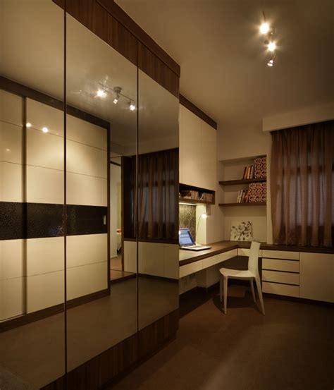 Closet Design Singapore Modern Apartment In Singapore With A Clean Design Modern