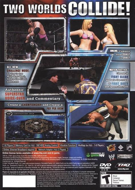 emuparadise wwe games wwe smackdown vs raw usa iso