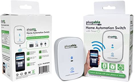 plugable bluetooth controlled ac power switch for home