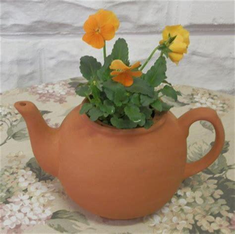 Large Teapot Planter by Planters Large Teapot Planter