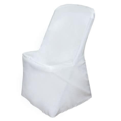folding chair slipcovers 100 pcs lifetime folding chair covers slipcovers polyester wedding party linens ebay