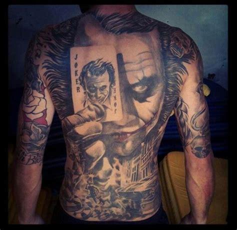 tattoo the joker heath ledger amazing joker heath ledger tatoo tattoos pinterest