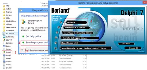 tutorial pemrograman borland delphi 7 tutorial pemrograman cara instal borland delphi 7 di