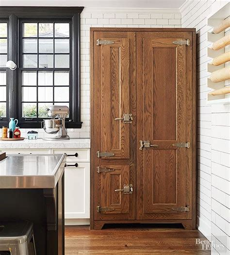freestanding pantry ideas  standing kitchen cabinets