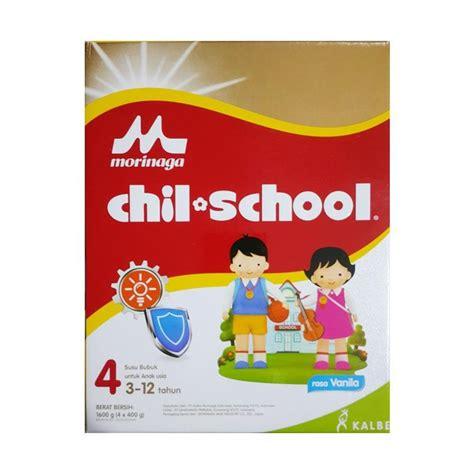 Morinaga Chil Mil Reguler jual morinaga chil school reguler vanila formula 1600 gr harga kualitas