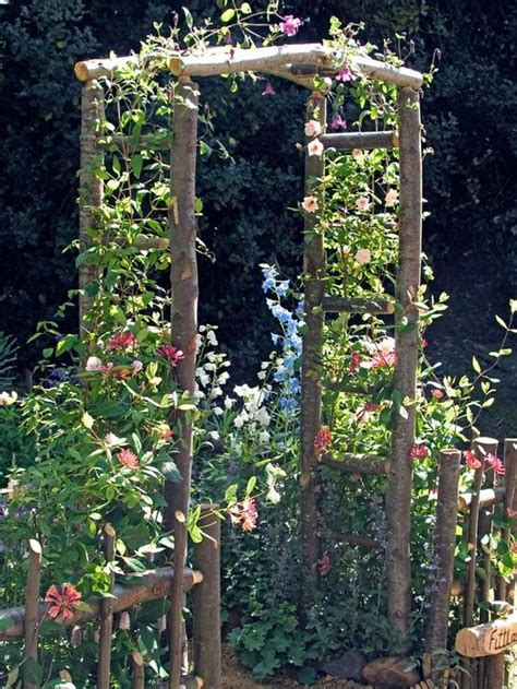 Garden Arch Build How To Build A Wooden Arch Kit Gardens And Entrance