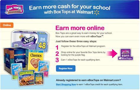 Education Box bonus boxtops from walmart