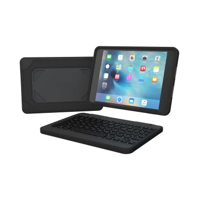 rugged with keyboard zagg rugged book with backlit keyboard for air 2