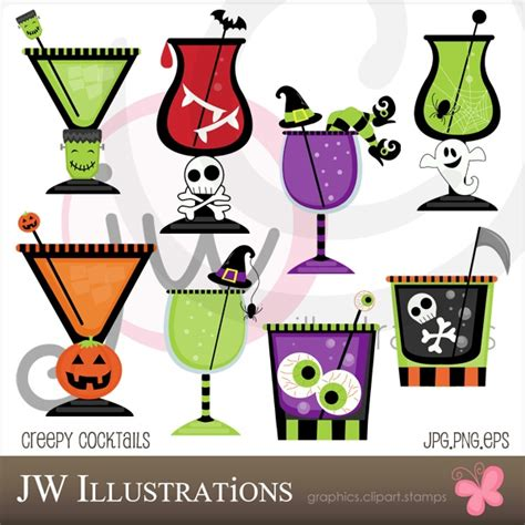 halloween martini clipart halloween cocktails clipart 27