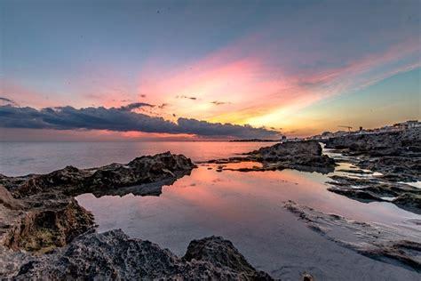 salento sul mare salento la grande bellezza dei crepuscoli sul mare 1 di
