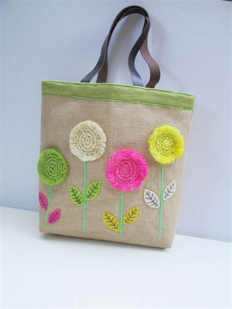 Tote Bag Handmade - 17 best ideas about tote bags handmade on