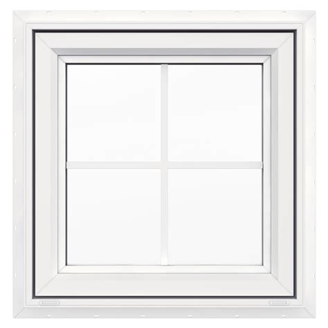 Awning Windows Lowes by Shop Jeld Wen 24 In X 24 In V4500 Series Single Vinyl