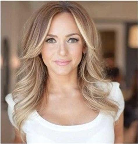 long hair styles parted in the middle 2018 popular long hairstyles with part in the middle