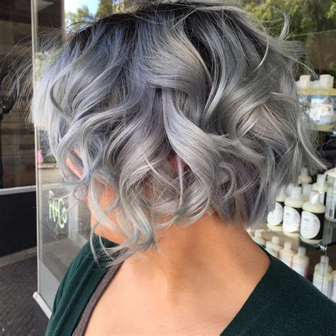 hair styles for gray roots bob with highlights and lowlights short hairstyle 2013