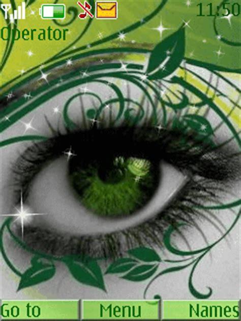 java themes peperonity download green eye nokia theme mobile toones