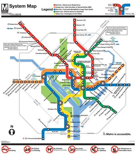 metro maps cac city directions