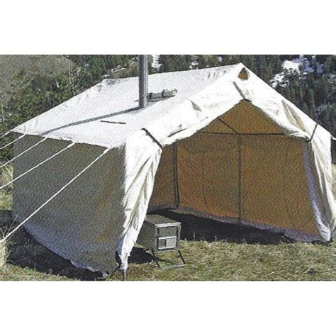 white canvas wall tent 10 x14 canvas wall tents durable magnum canvas wall tent 12 x 14