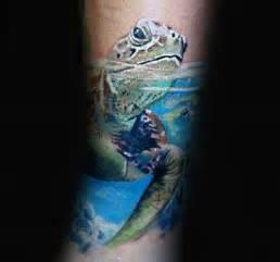 turtle water tattoo