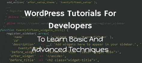 Wordpress Tutorial For Developers Video | blog justlearnwp