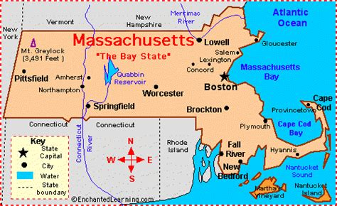 what is the state of massachusetts massachusetts facts map and state symbols enchantedlearning