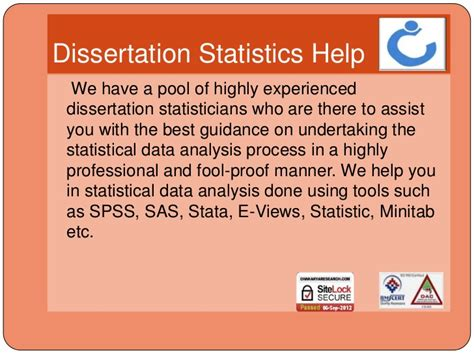 statistics for dissertation dissertation help with statistics writing service