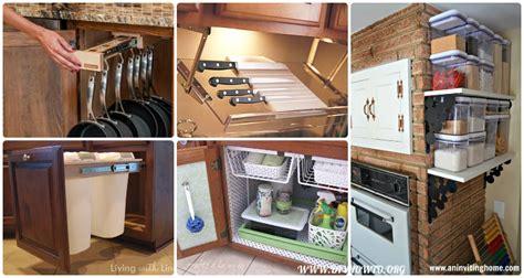 diy space savers diy space saving hacks to organize your kitchen