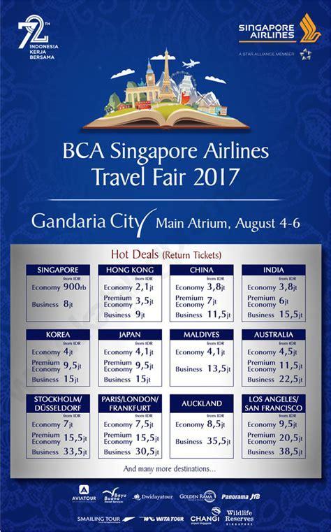 Berburu Tiket Pesawat Murah di EMPAT Travel Fair Indonesia