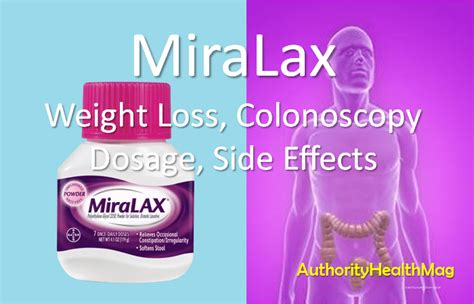 Miralax Stool Softener Side Effects by Miralax For Dosage Matttroy