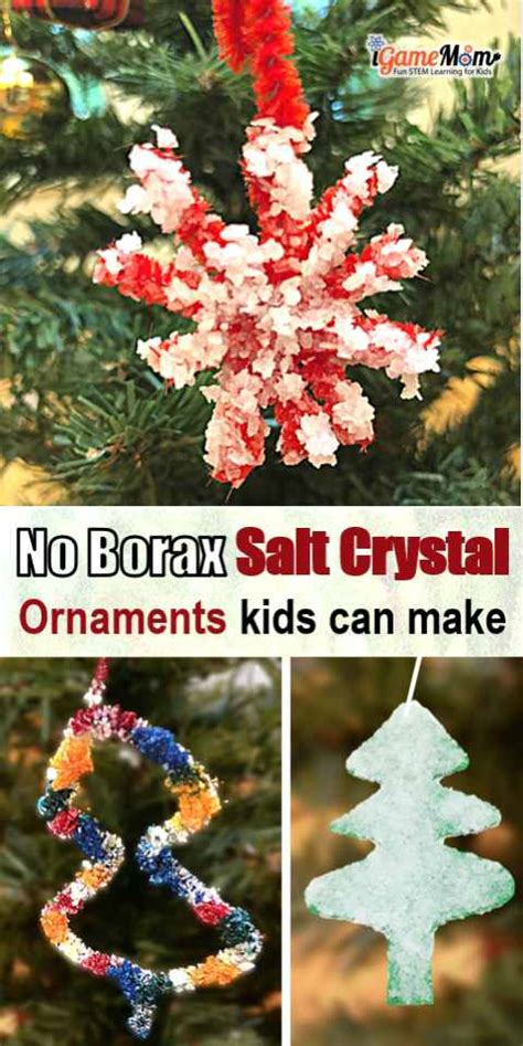 christmas tree water solution fast salt ornaments no borax needed