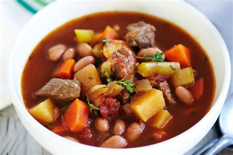 vegetable beef soup recipe cooker beef and vegetable soup