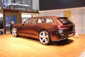 Volvo Wagon Concept Geneva 2014 Volvo Brown Wagon Concept